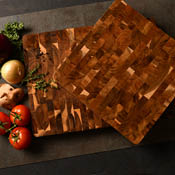 Square End-Grain Chopping Block