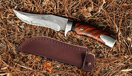 LifeLong Gifts Damascus Steel Hunting Knife, an engraved gift for real estate agent closing gifts