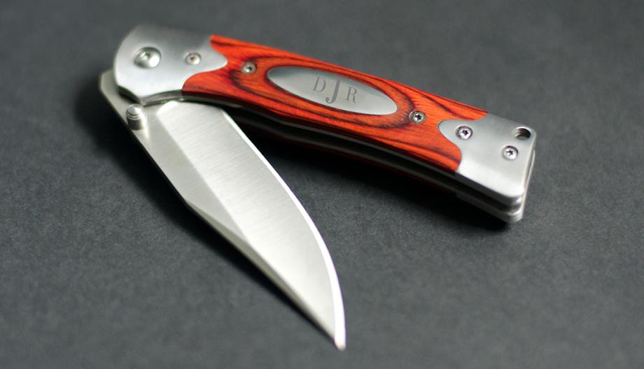 Lifelong Gits folding pocket knife for real estate agent referral and closing gift