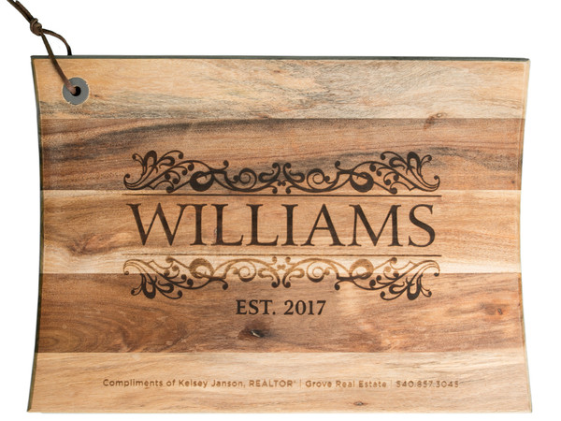 Large Engraved Serving Board