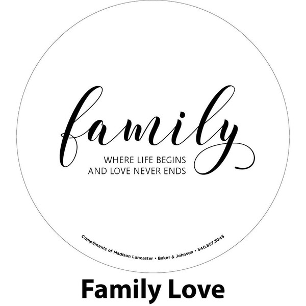 life and love engraving sample