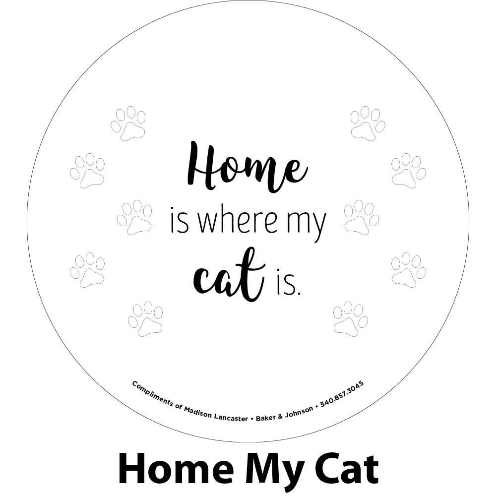 my cat engraving sample