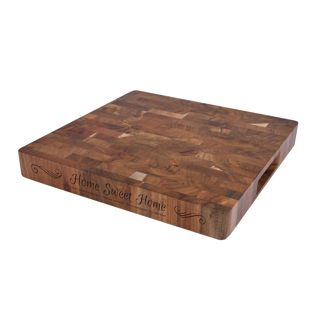 square chopping block