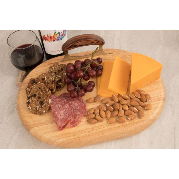 Ulu Mate as a cheese serving board