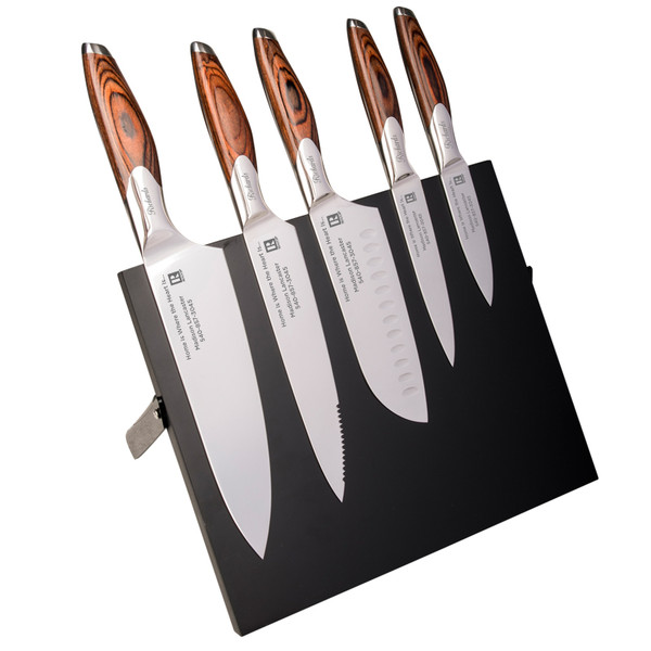 5-Piece Mirror-Polished Cutlery Set