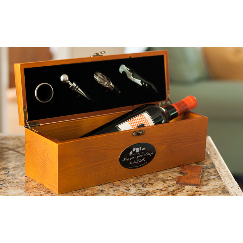 Personalized Wine Box Gift